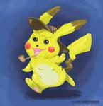 Detective Pikachu by TheInsaneDingo
