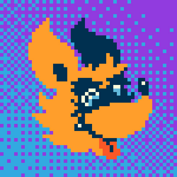 Pixel Dingo by TheInsaneDingo