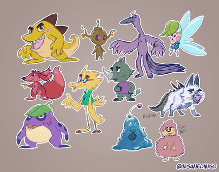 Designing Monsters and Creatures by TheInsaneDingo