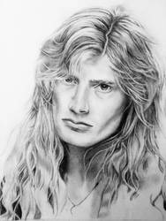 Dave Mustaine by mslaurnq