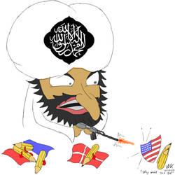 Draw the Prophet Muhammed 6 by webkilla