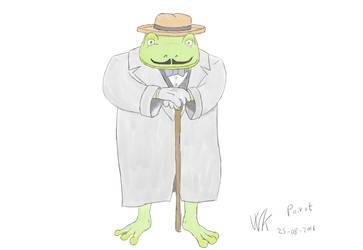 Poirot by webkilla