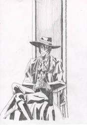 AlucardTroon-Sketch by FiReNaTiOnAnGeL