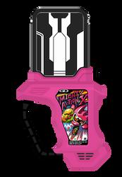 Kamen Rider Ex-Aid Mighty Action X Gashat by raidenzein
