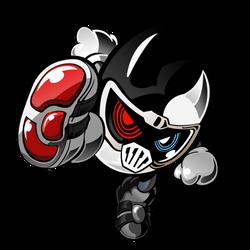 Kamen Rider Ex-Aid Zombie Mighty (FANFIC) by raidenzein