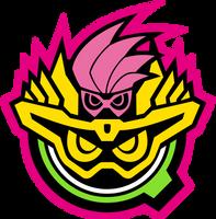 Gashat Maximum Mighty X Logo by raidenzein