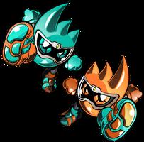 Kamen Rider Ex-Aid Mighty Brothers by raidenzein