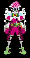 Kamen Rider Ex-Aid VRX by raidenzein