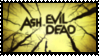 Ash vs. Evil Dead Stamp by Reseliee
