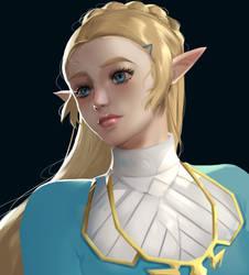 Princess Zelda by Flaykie