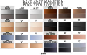 Base Modifier: Ashen / Dilute by TheNook