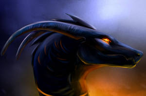 Request dragon sketch by Noquelle