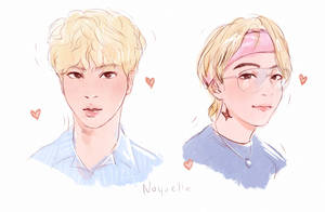 TaeJin sketches by Noquelle