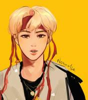 Seokjin IDOL by Noquelle