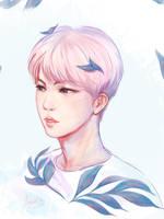 The Flower Jin sketch by Noquelle