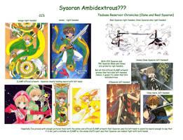 Syaoran Ambidextrous? by wishluv