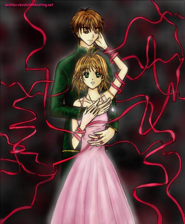 Sakura and Syaoran - The Veil by wishluv