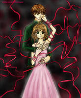 Sakura and Syaoran - The Veil by wishluv