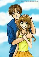 Sakura Syaoran Hug by wishluv