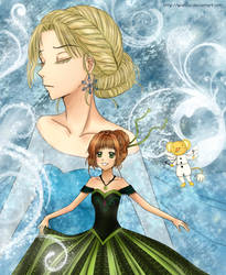 Card Captor Sakura in Frozen by wishluv
