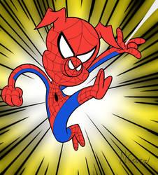 Spider-Ham by Yojama