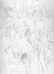 Bozo the Clown dump by Yojama