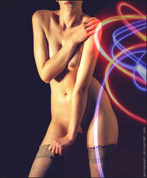 Neon Nude by Gryphonboy