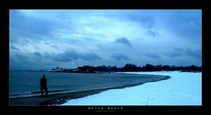 White Beach Photograph by goteki