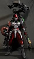 Imperial Guard Techpriest by kourkenko