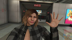 GTA Online - Subway Selfie by MaisyDaydream