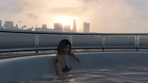 GTA Online - An Evening on the Yacht #1 by MaisyDaydream