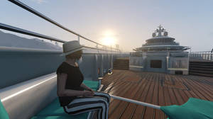 GTA Online - An Evening on the Yacht #3 by MaisyDaydream