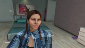 GTA Online - Bedroom Selfie by MaisyDaydream