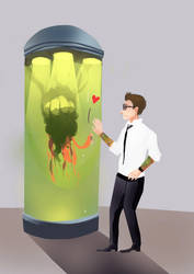 Kaiju Love by Scordaturei