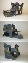Ruin Building fot wh40k by Gambitronius