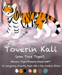 Tove Feral Reference 2019 by tovetiger