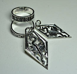 Skyrim Jewelry by Worldofjewelcraft