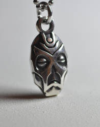 Dragon Priest mask 2 Skyrim by Worldofjewelcraft