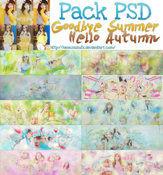 [PACK] Goodbye Summer - Hello Autumn [STOP SHARE] by LittleLeaf2k