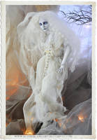 Breathless.. Haunted Ghost Ball jointed doll by SutherlandArt