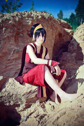 Toph Bei Fong - The runaway by Saerithi