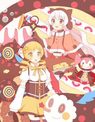 Mami and Nagisa by TheSoundOfFreedom