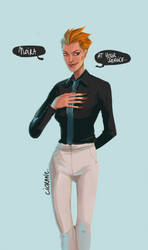 Moira, at your service by Ciorane
