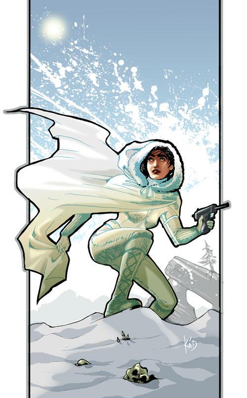 Ice Queen by aubergineverde