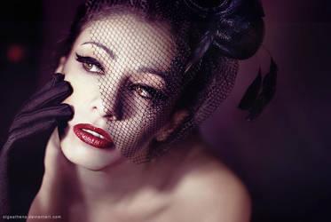 Little Black Hat by OlgaAthens