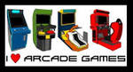 Arcade Games Stamp by AdrianoRamosOfHT