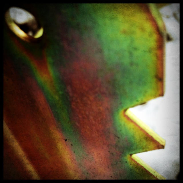 metal rainbow by AMPhitheatre