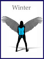 Winter angel by AMPhitheatre