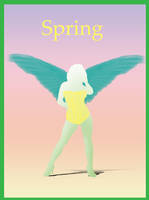 Spring Angel by AMPhitheatre