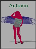 Autumn Angel by AMPhitheatre
